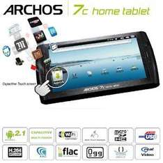 """ARCHOS 7c Home Tablet 8GB with Android™ 2.1 Éclair and 7"""" Capacitive Multi Touch Screen  £132.90 @ ibood"""