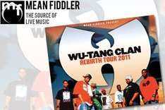 HALF PRICE Wu-Tang Clan tickets (£14.50 instead of £29.50) @Groupon