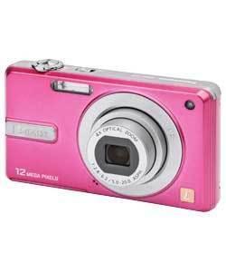 PANASONIC Lumix DMC-F3 Camera 12mp,720p HD video, Now only pink available Refurbished  £35.99@Argos/Ebay