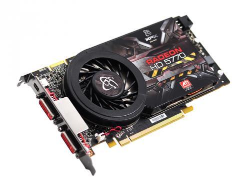 XFX (ATI) HD 5770 'Single Slot' 1GB GDDR5 PCI-E - £73.98 @ Ebuyer.com