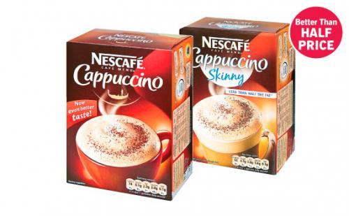 Nescafé Cappuccino £1.25 @ Lidl