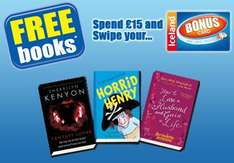 Free books at Iceland with a £15 spend