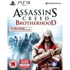 Assassin's Creed Brotherhood: Da Vinci Edition: Includes DLC (PS3) only £17.99 @ Amazon
