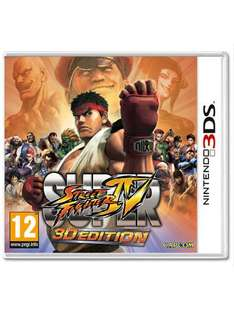 Super Street Fighter IV: 3D Edition (3DS) £14.99 @ Game