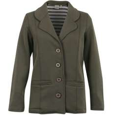 Only  £4.99. Women's Cotton Traders Jersey Blazer Jacket - Green  @ The Hut. rrp  £40.00.  Delivery is free.