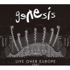 Genesis Live Over Europe 2xCD £6.68 delivered Amazon UK