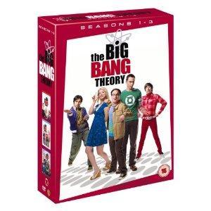The Big Bang Theory Season 1-3 DVD @ Amazon for £17.93