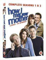 How I Met Your Mother - Season 1-2 DVD for £10.60 @ Tesco with code - plus Quidco/TCB