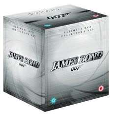 James Bond Complete Collection (22 Discs, including Quantum of Solace) £29.99 + £1.26 delivery @ AMAZON (IWANTONEOFTHOSE)