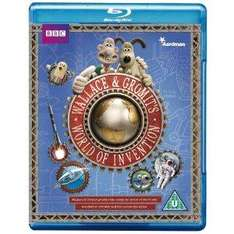 Wallace and Gromit's World of Invention [Blu-ray] only £3.50 delivered @ Amazon