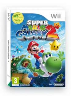 Super Mario Galaxy 2 (Wii) - £23.99 @ Currys (also £19.99 used @ Game)