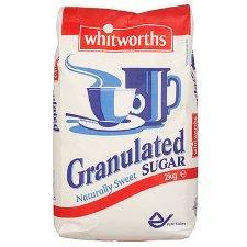 Whitworths Granulated Sugar 2kg. bag £1.22 (£0.61/kg @ Tesco