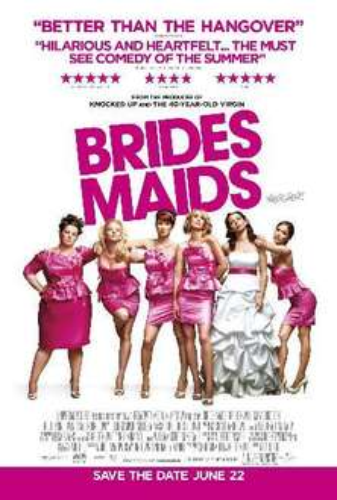 Free Screening - Bridesmaids 14th June @ Tellten