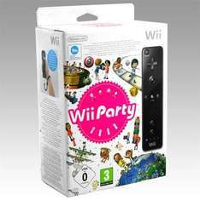 Wii Party + Wii Remote Controller Black £22.99 Delivered @ GameStation