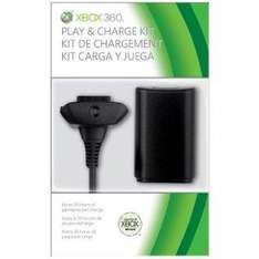 Official Xbox 360 Play and Charge Kit, Black - £7.99 @ Amazon