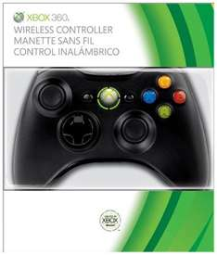 Wireless Controller - Black (Xbox 360) £19.99 @ Amazon