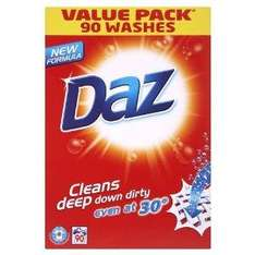 Daz Regular laundry detergent powder 90 wash 6.4kg £11.96 Delivered @ Amazon