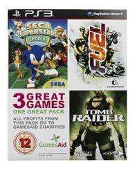 Sony PlayStation 3 Triple Pack GamesAid Bundle - £8.99 @ Currys/PC World Ebay Outlet