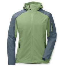 Womens Outdoor Research softshell hoody in 'Fern/Balsam'was £85 now £15 at Rock+Run