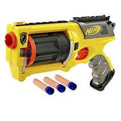 Nerf N-Strike Maverick Dart Gun reduced in Sainsburys