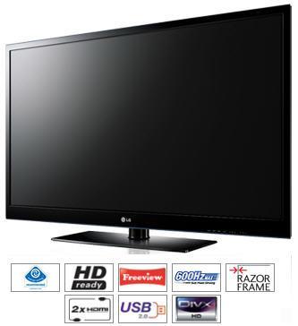 LG 42PJ550 Plasma TV 42 inch HD Ready Freeview £329.00  @ Very