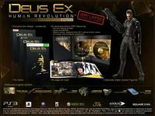 Deus Ex: Human Revolution - Collector's Edition (Xbox 360/PS3) - £39.99 / PC - £34.99 @ Blockbuster