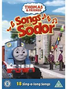 Thomas & Friends - Songs from sodor DVD £2.99 delivered @ CDWOW