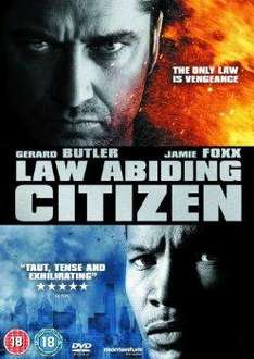 Law Abiding Citizen DVD £3.99 Delivered @Choicesuk