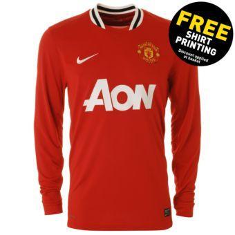 JJB free shirt printing on all new football shirts for 2011-12 seasons