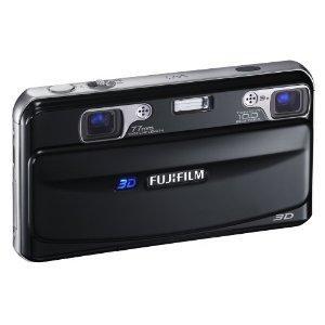 Fujifilm FinePix Real 3D W1 Camera - Black (10MP, 3x Optical Zoom) 3D/2D LCD £126 @ Amazon  sold by BiggestDiscount.