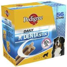 Pedigree Dentastix Large Three boxes of 56 for £16.89 delivered at Amazon
