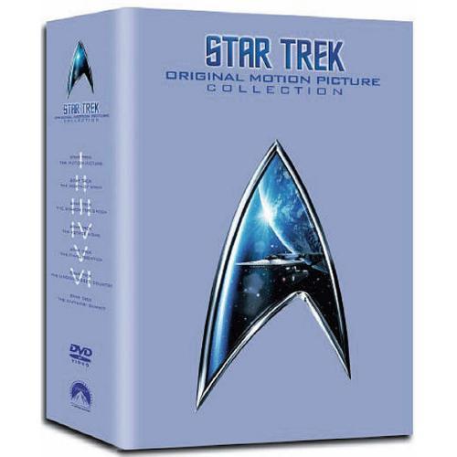 Star Trek: Original Motion Picture Collection 1-6 [7 DVD Boxset] £11.98 delivered @ Sendit