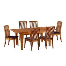 2 dining chairs - Pair of Solid Acacia Lotus Chairs was £280 now £56.25 delivered using 10% code PY3P @ Debenhams.com