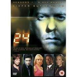 24 COMPLETE SERIES 1-4 DVD BOX SET - £28.00  @ Tesco Ebay