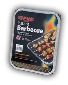 Instant Barbecues - 99p instore in Sainsburys