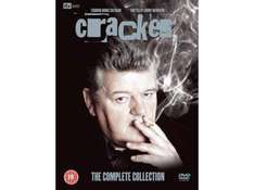 """Only  £16.00. """"Cracker"""" The Complete 11 DVD Collection @ Tesco Outlet. Free Delivery."""