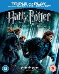 Harry Potter And The Deathly Hallows Part 1 Triple Play (Blu-ray, DVD And Digital) - £12.99 Delivered @ Bee.com