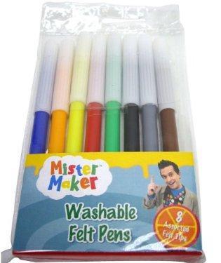 Mr Maker washable felt tip pens 2 packs delivered to store @ Mothercare £0.30