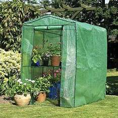 Large walk in greenhouse £19 in store at Asda