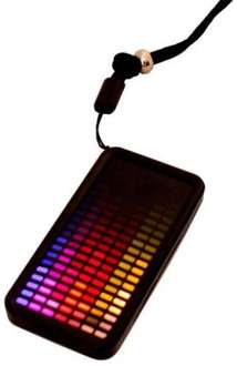 El Tagz - graphic equalizer light up dog tag (yes really) £4.99 @ IWOOT.com