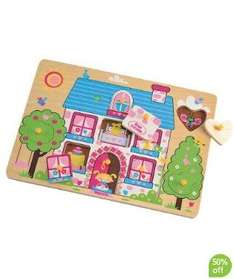 Cottage Lift Out Puzzle, 4 in 1 Lift Out Puzzle - the beach, Can You See? Busy Park Puzzle, Action Hero Puzzle, Can You See?, Race Track Puzzle. Can You See? Busy Park Puzzle all £3.20 at Mothercare