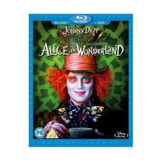 Alice In Wonderland: Double Play (Blu-ray + DVD) - £7.99 Delivered @ Play & Amazon