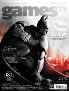GAMES™ Magazine 3 issues for £1 Delivered (Shop Price £4.50 per issue) @ Imagine Publishing