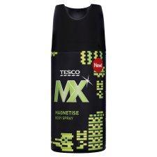 Tesco MX 150ML Deodorant, 200/250ML Shaving Gel/Foam & 300ML Shower Gel 1/3 Off 66p