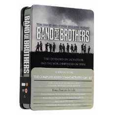 Band Of Brothers: Complete HBO Series (Commemorative 6-Disc Gift Set In Tin Box) [DVD] - £12.99 @ Amazon