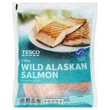 Half Price  Tesco Wild Alaskan Salmon 600G £5.00 @Tesco