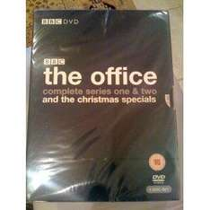 The Office - Complete Series One & Two and The Christmas Specials [DVD] - £6.99 delivered @ Amazon & Play