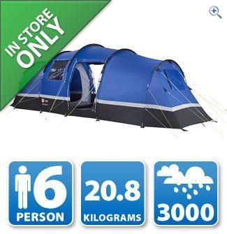 Hi Gear Zenobia 6 - 6 Berth Tent (R&C) £154.99 inc. £5 DISCOUNT CARD @ Go Outdoors
