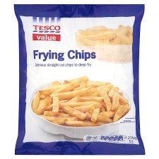 Tesco 'Value'  Frying Chips 2,27 kgs for 60p