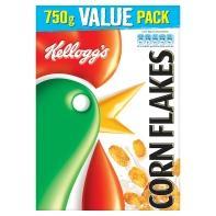 Kelloggs Cornflakes 750g. 3 for £5 @ Asda